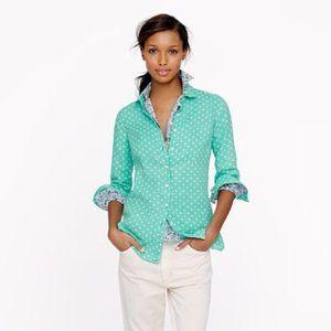 J. Crew Factory Button Down Shirt In Linen XS